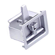 24 - Flush T-Handle Style Self-Adjusting Compression Latches